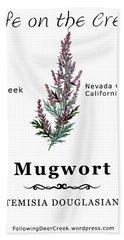 Mugwort Bath Towel