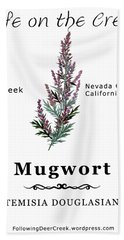 Mugwort Bath Towel