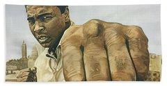 Muhammad Ali Hand Towel