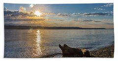Mukilteo Beach Hand Towel
