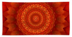 Muladhara Chakra Mandala Bath Towel