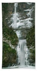 Multnomah Falls Ice Hand Towel