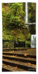 Multnomah Falls,oregon Hand Towel