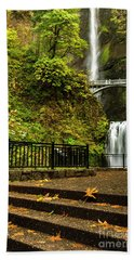 Multnomah Falls,oregon Bath Towel