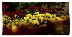 Mums Hand Towel by Jay Stockhaus