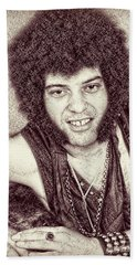 Mungo Jerry Portrait - Drawing Hand Towel