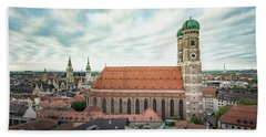 Munich - Frauenkirche Bath Towel