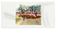 Munn Park, Lakeland, Fl Hand Towel