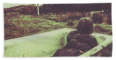 Murder Body Bag Bath Towel by Jorgo Photography - Wall Art Gallery