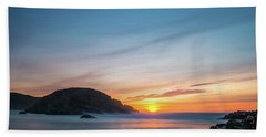 Murder Hole Beach Bath Towel