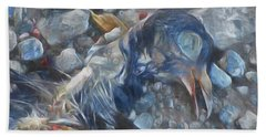 Murder Bath Towel by Steve Taylor