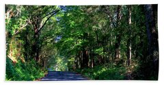 Bath Towel featuring the photograph Murphy Mill Road - 2 by Jerry Battle
