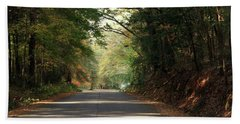 Bath Towel featuring the photograph Murphy Mill Road by Jerry Battle