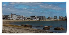 Museum Beach Scituate Massachusetts Bath Towel by Brian MacLean