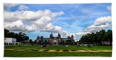 Bath Towel featuring the photograph Museum Park, Amsterdam by Chris Coffee