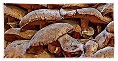 Mushroom Colony Hand Towel