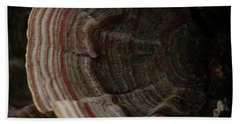 Hand Towel featuring the photograph Mushroom Shells by Kim Henderson