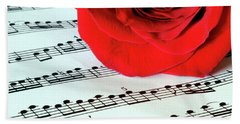 Music Lover  Hand Towel
