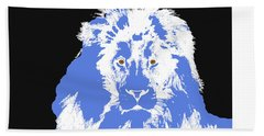 Hand Towel featuring the digital art Music Notes 15 by David Bridburg