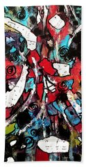 Musical Cacophony 1 Hand Towel