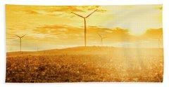 Musselroe Wind Farm Hand Towel