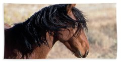 Bath Towel featuring the photograph Mustang by Lula Adams
