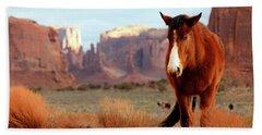 Mustang Hand Towel