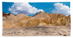 Mustard Canyon Panorama Hand Towel