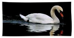 Mute Swan  Hand Towel