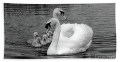 Mute Swans Hand Towel