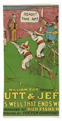 Mutt And Jeff 1919 Hand Towel
