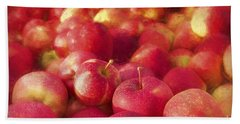My Apple Harvest Hand Towel