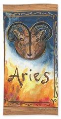 My Aries Hand Towel