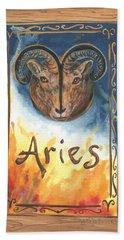 My Aries Bath Towel