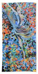 My Ballerina Bath Towel by Gary Smith