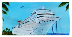 My Carnival Cruise Hand Towel