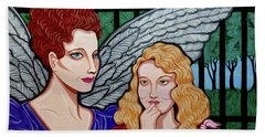 My Guardian Angel Hand Towel by Tara Hutton