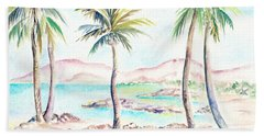 My Island Hand Towel by Elizabeth Lock