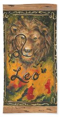 My Leo  Bath Towel
