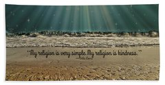 My Religion Hand Towel by Trish Tritz
