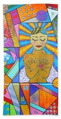 My Soul, I Carry Hand Towel by Jeremy Aiyadurai