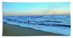 My Soul Searches  Bath Towel by Christy Ricafrente