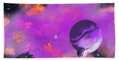 My Space Bath Towel by Methune Hively