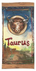 My Taurus Hand Towel