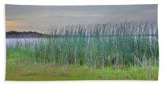 Myakka Tall Reeds Hand Towel