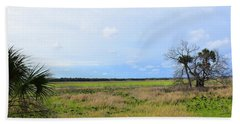 Myakka Wetlands Bath Towel