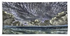 Myrtle Beach Hand Tinted Panorama Sunrise Bath Towel
