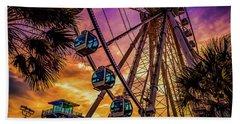 Myrtle Beach Skywheel Hand Towel