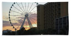 Myrtle Beach Sunset 2 Hand Towel by Gordon Mooneyhan