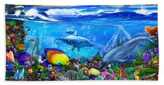 Mysterious Ocean Realm Hand Towel